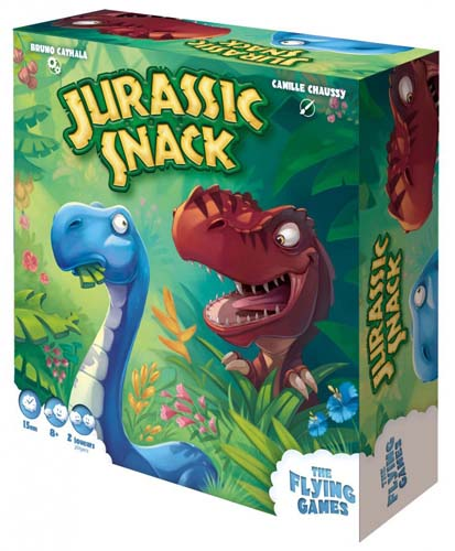 Flying games Jurassic snack