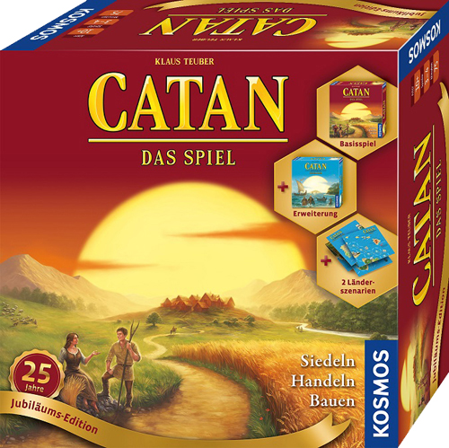 CATAN Jubiläumsedition25 klein N